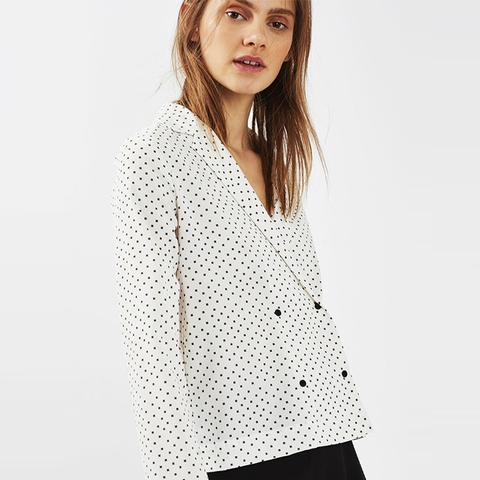Cross Print Pyjama Shirt