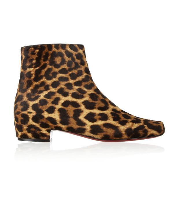 comfy leopard-print boots