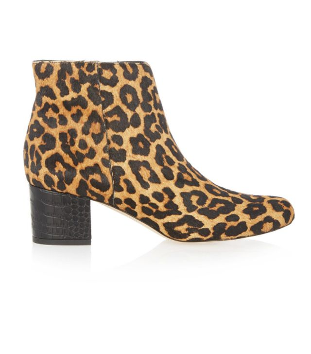 affordable leopard-print boots