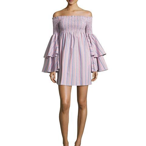 Appolonia Off-the-Shoulder Mini Dress