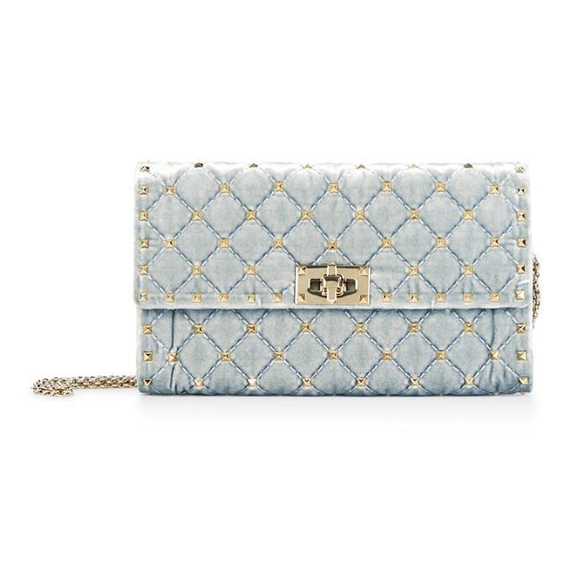 Style dot com trends: Valentino Garavani Rockstud Velvet Bag