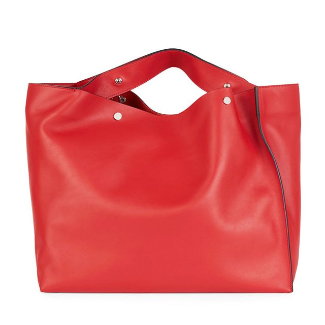 Style dot com trends: Marni Red Shopper