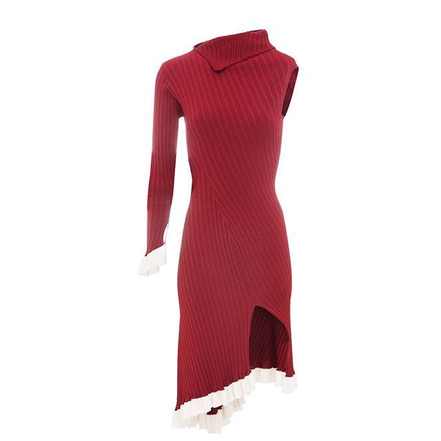 Style dot com trends: Estaban Cortázar Asymetric One-Shoulder Dress