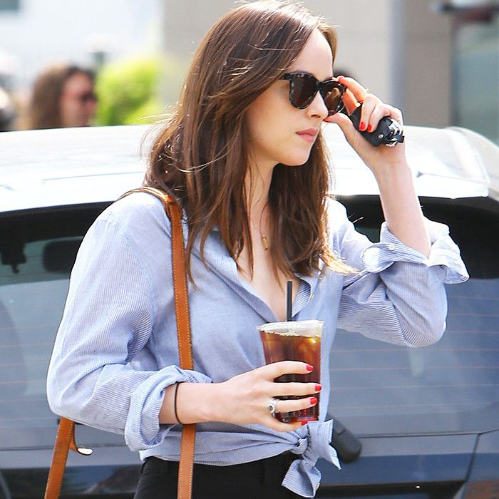 Dakota Johnson Will Probably Carry This Bag for the Next 50 Years