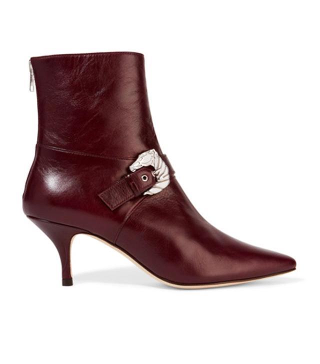 Ankle boot trends 2017: kitten heel boots