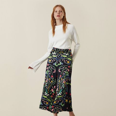 Hervey Hungarian Floral Culottes