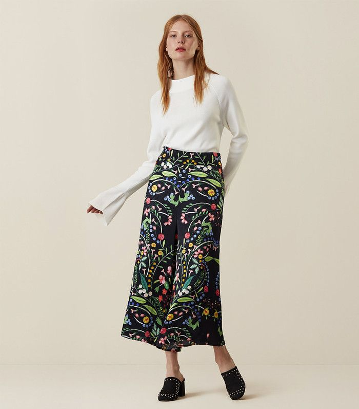 Finery Spring collection 2017 Hervey Floral culottes