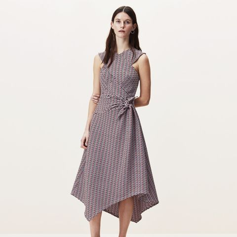 Boulcott Stripe Jacquard Dress