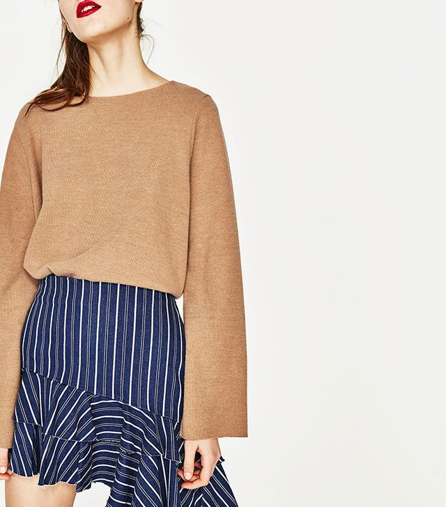 Zara Bell Sleeve Sweater