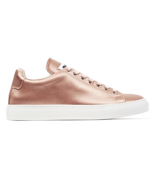 German Fashion: Jil Sander Satin Sneakers