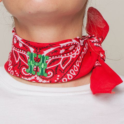 Bandana With Letters