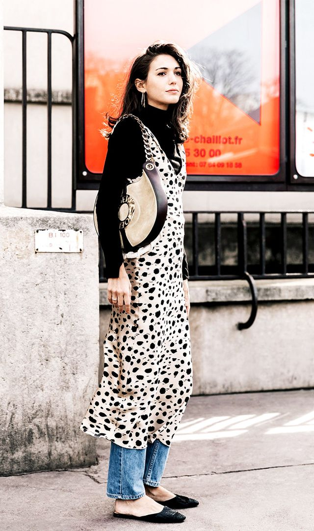 Instead of a loud animal print, try something that is more minimal and graphic.