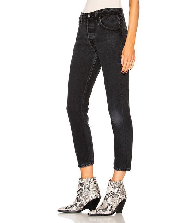best vintage black jeans