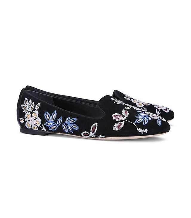best embroidered flats