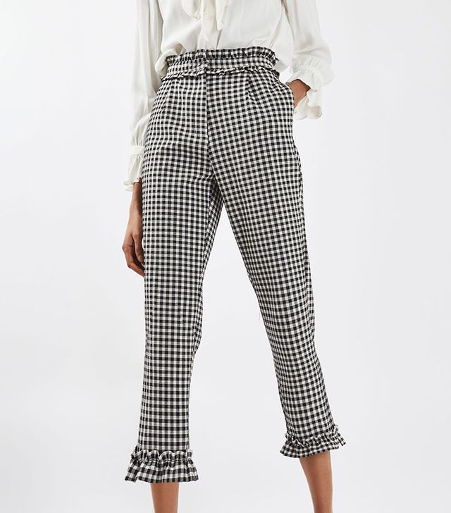 best gingham pants