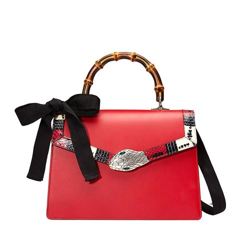 Lilith Leather Top Handle Bag
