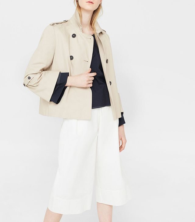 best short trench coat