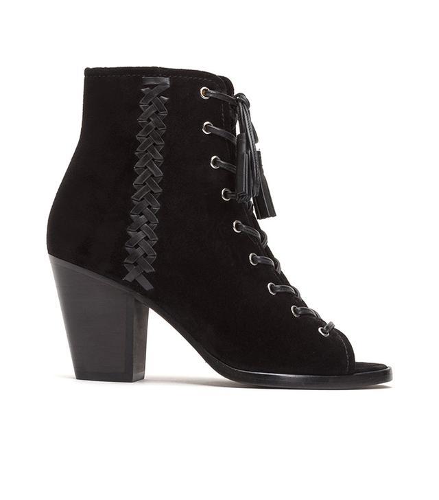 Frye Dani Whipstitch Lace Boots