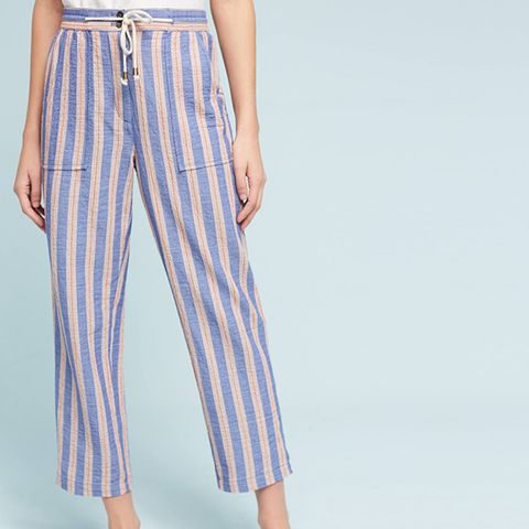 Beachside Striped Pants