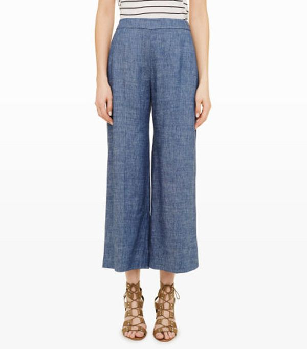 High-waisted pant