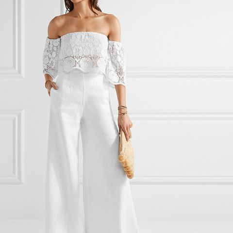 Pamela linen Wide-Leg Pants