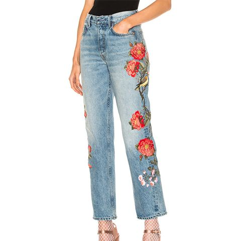 Helena High-Rise Straight Jeans
