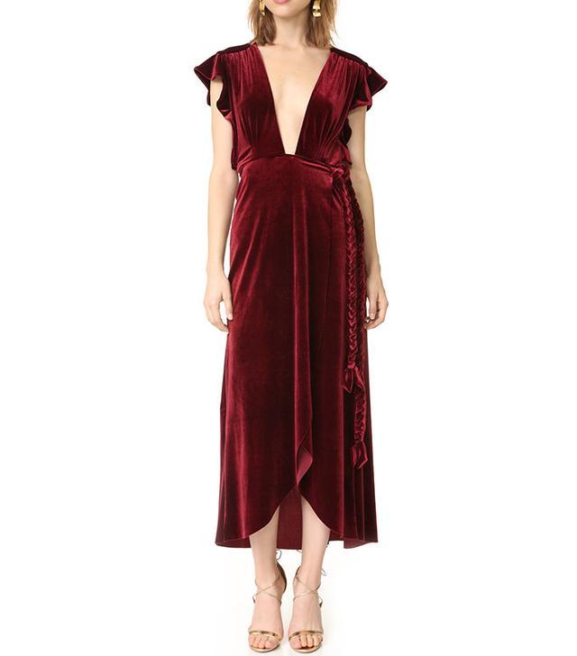 luxe velet dress