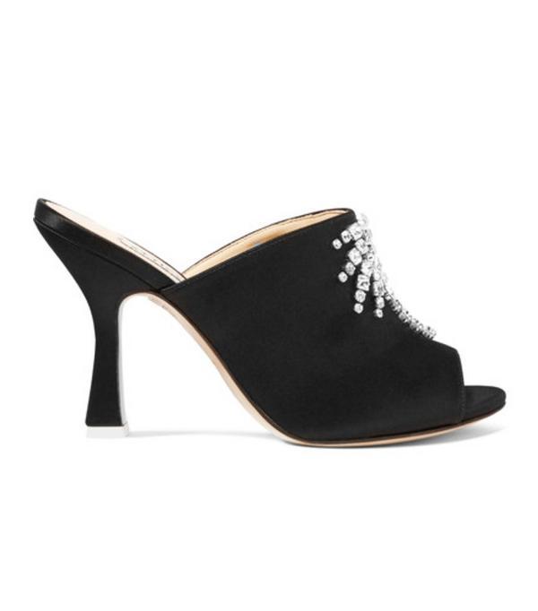 Best black heels: Attico