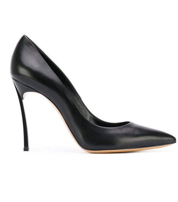 Best black heels: Cadadei