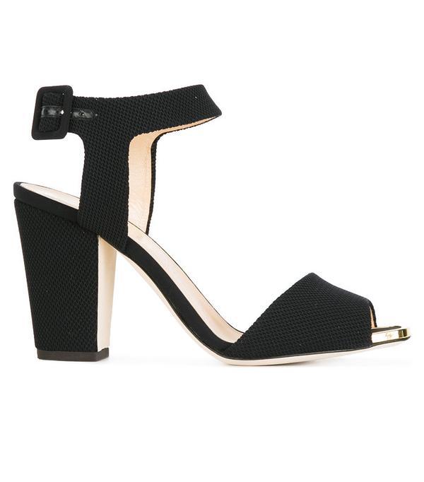 best black heels: Giuseppe Zanotti Emmanuelle Sandals