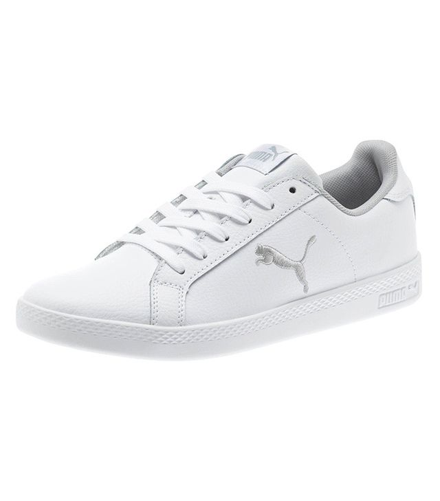best white puma sneakers