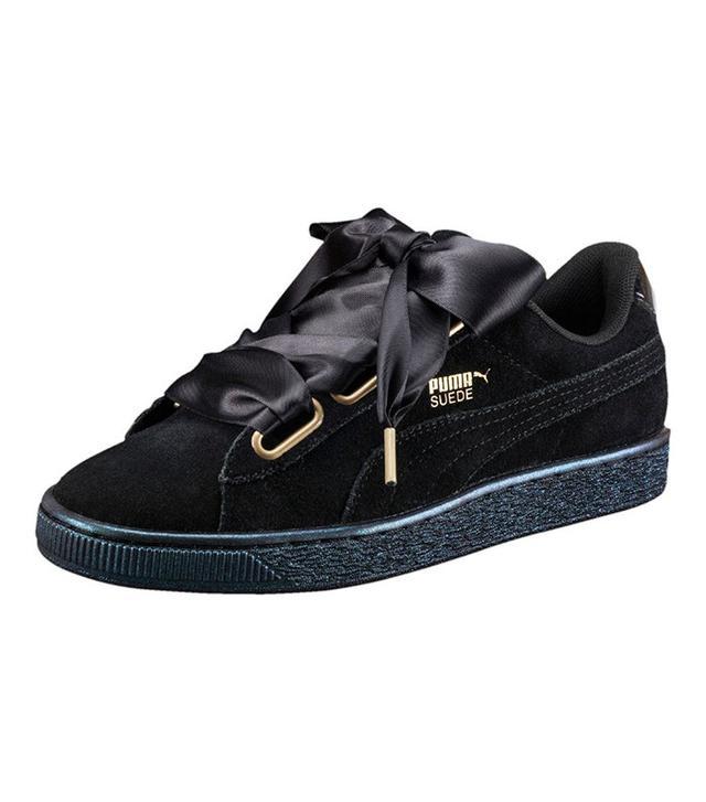 best black puma sneakers