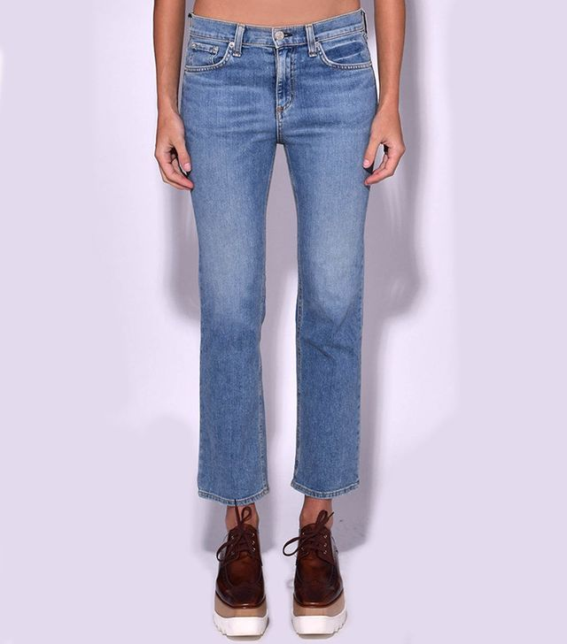 Rag & Bone 10-Inch Stove Pipe Jean in Belle