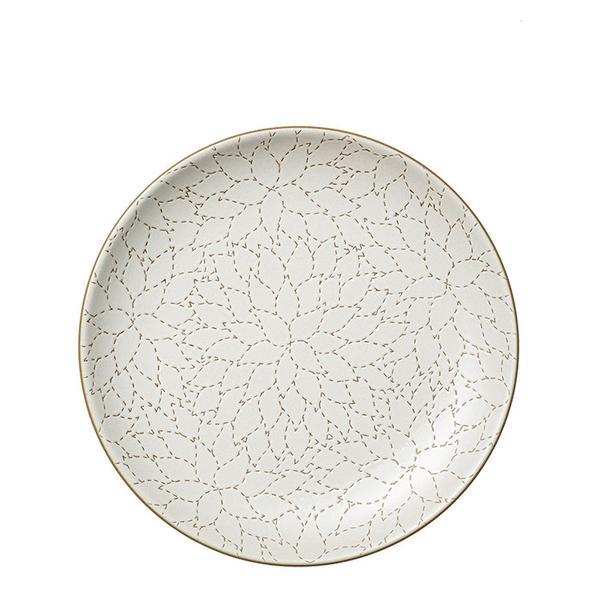 flower print dinner plates
