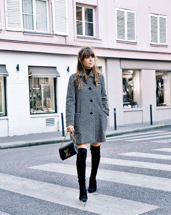 outfits with over the knee boots