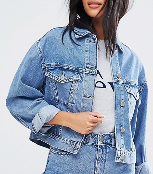 affordable denim jacket