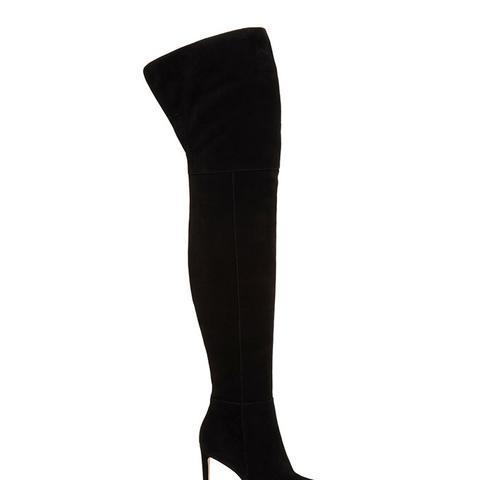 Bernadette Suede Over-the-Knee Boot
