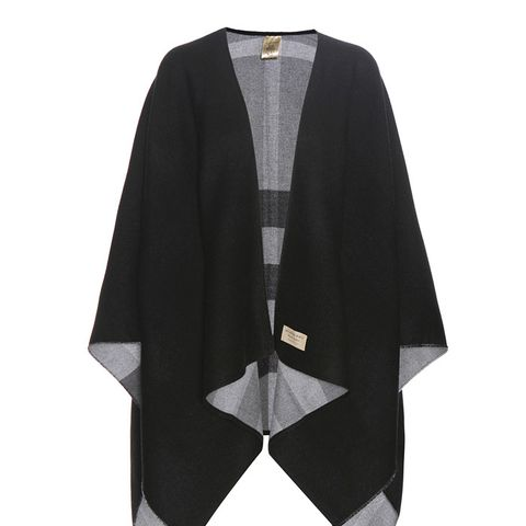 Reversible Wool Cape