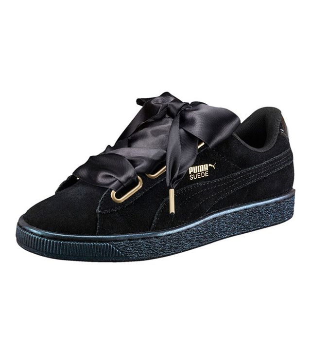 best black puma sneakers