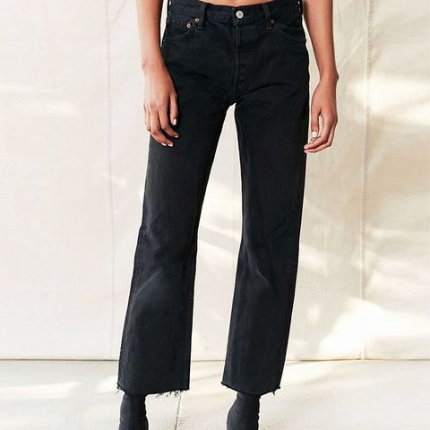 Remade Levi's Long Cropped Jean