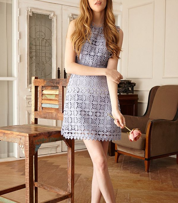 best pastel lace dress