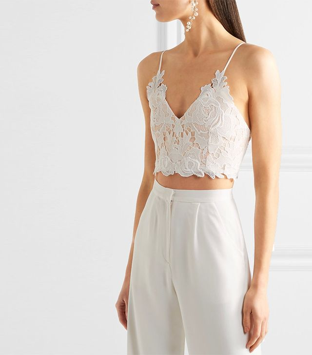 best lace bustier top