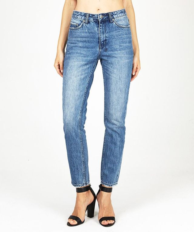 Ksubi The Slim Pin Re-Wind Blue Jeans