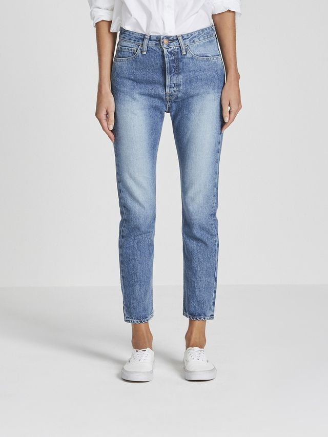 Bassike Classic Crop Jeans