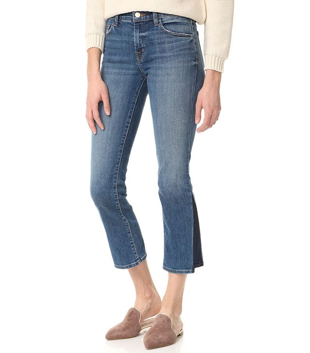 Shadow jeans trend:  J Brand Selena Mid Rise Jeans