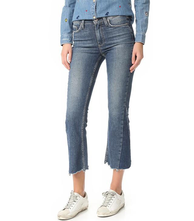 Shadow jeans trend: Paige Vintage Pieced Colette Jeans