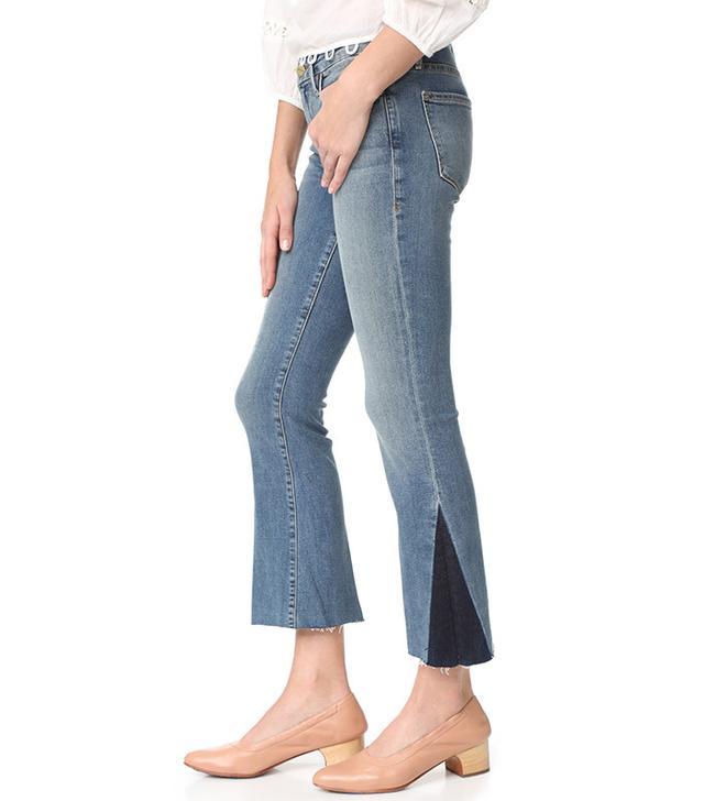 Shadow jeans trend: Frame Le Crop Mini Boot Cut Jeans