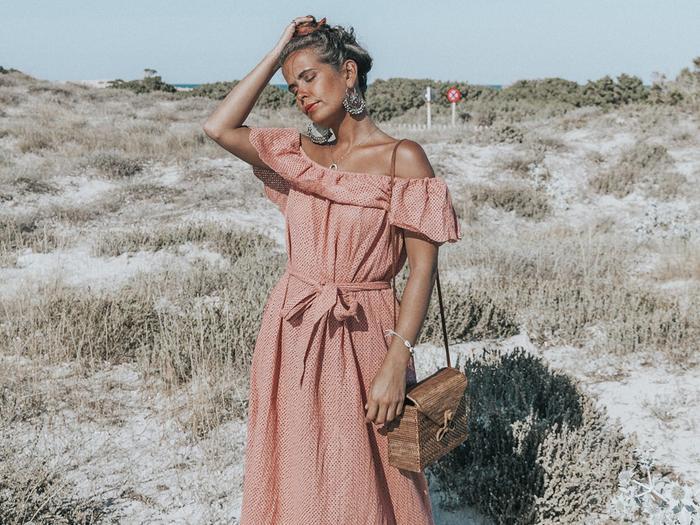 Bohemian Dresses for Coachella: Collage Vintage