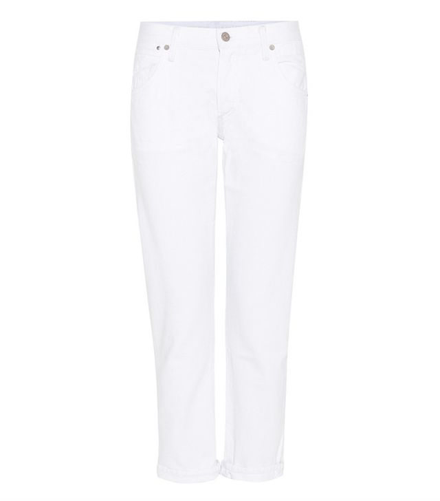 best slim white boyfriend jeans