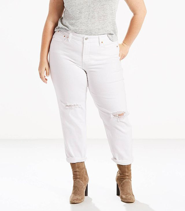 best plus size boyfriend jeans